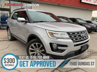 Used 2016 Ford Explorer Limited | NAV | LEATHER | PANO ROOF | 4X4 | CAM for sale in London, ON