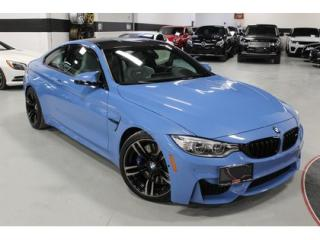 Used 2016 BMW M4 1-OWNER   YAS MARINA BLUE for sale in Vaughan, ON