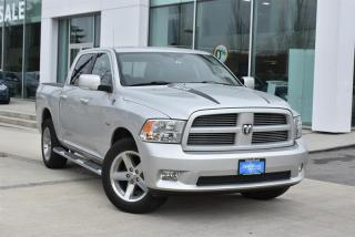 Used 2011 Dodge Ram 1500 Sport Crew Cab 4WD for sale in Burnaby, BC
