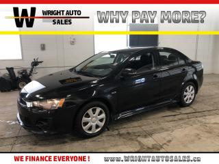 Used 2016 Mitsubishi Lancer ES|BLUETOOTH|HEATED SEATS|36,993 KM for sale in Cambridge, ON