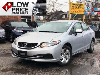 Used 2015 Honda Civic LX*AllPowerOpti*Camera*Bluetooth*HondaWarr* for sale in Toronto, ON