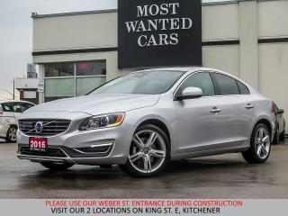 Used 2016 Volvo S60 T5 PREMIER AWD | TECH & BLIS PACKAGE | NAVIGATION for sale in Kitchener, ON