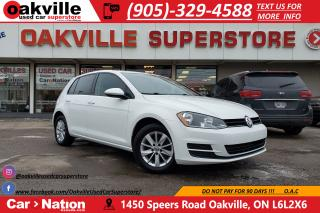 Used 2015 Volkswagen Golf 1.8 TSI TRENDLINE | HTD SEATS | TOUCHSCREEN | BT for sale in Oakville, ON