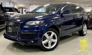 Used 2013 Audi Q7 S-LINE|SPORT for sale in North York, ON