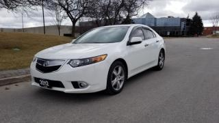 Used 2012 Acura TSX 4dr Sdn I4 Auto w/Premium Pkg | 2 Owner | Accident Free for sale in Vaughan, ON