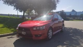 Used 2017 Mitsubishi Lancer 4dr Sdn FWD | 2 Owner | Back Up Cam. | Bluetooth for sale in Vaughan, ON