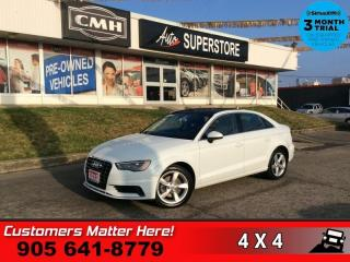Used 2015 Audi A3 Technik  ADAP-CRUISE BS NAV ROOF CAM PREM-AUDIO HS PARK-AID HID for sale in St. Catharines, ON