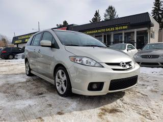 Used 2007 Mazda MAZDA5 GT-6 PASSENGER-LOW KM-LEATHER-LOW Monthly Payments for sale in Edmonton, AB