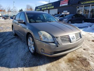Used 2006 Nissan Maxima SE-GLASS ROOF-HEATED STEERING-LOW Monthly Payments for sale in Edmonton, AB