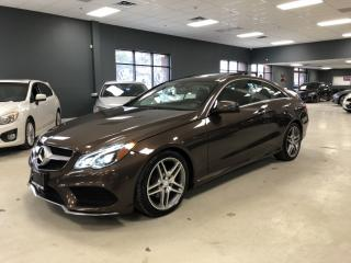 Used 2014 Mercedes-Benz E-Class E 350 4MATIC*AMG SPORT PACKAGE*NAVIGATION*360*CAME for sale in North York, ON