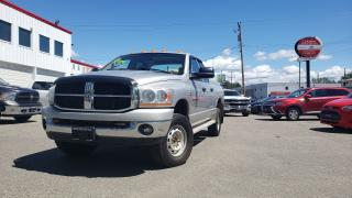 Used 2006 Dodge Ram 3500 SLT for sale in Quesnal, BC
