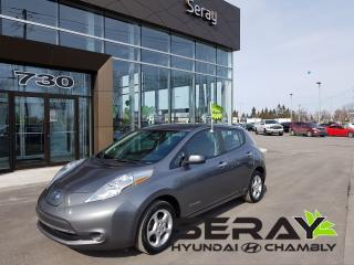 Used 2015 Nissan Leaf Sv, Mags, Banc Ch for sale in Chambly, QC
