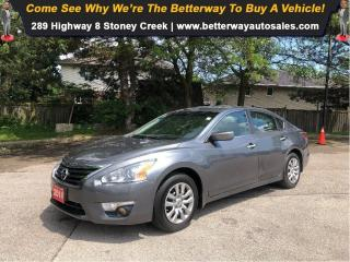 Used 2014 Nissan Altima 2.5 S| Keyless Ent| PWR Options| Gas Saver! for sale in Stoney Creek, ON
