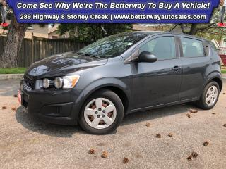 Used 2014 Chevrolet Sonic LS Auto| Keyless Ent| Gas Saver for sale in Stoney Creek, ON