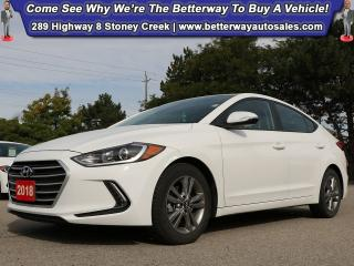 Used 2018 Hyundai Elantra GL| Heat Steer| Smartphone Connect| Backup Cam for sale in Stoney Creek, ON
