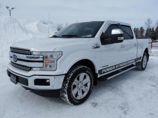 Used 2018 Ford F-150 Lariat cabine SuperCrew 4RM caisse de 6, for sale in Vallée-Jonction, QC