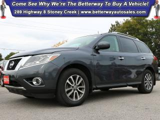 Used 2014 Nissan Pathfinder SV| Backup Cam| Heat Steer| 4X4 for sale in Stoney Creek, ON