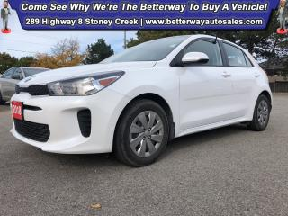 Used 2018 Kia Rio LX+|Heat Steer |Backup Cam |Gas Saver! for sale in Stoney Creek, ON