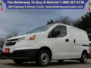 Used 2015 Chevrolet City Express LT| B-Tooth| Keyless Ent| Dream Work Vehicle! for sale in Stoney Creek, ON