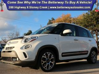 Used 2014 Fiat 500 L Trekking| Navi| Heat Seat| Pano Sunroof| B-Tooth for sale in Stoney Creek, ON