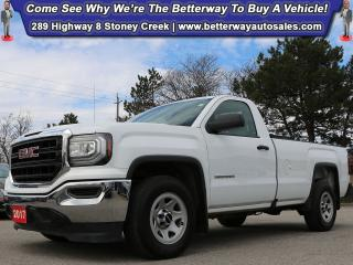 Used 2017 GMC Sierra 1500 Base | V6!| RWD| B-Tooth| PWR Options for sale in Stoney Creek, ON