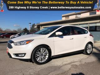 Used 2016 Ford Focus Titanium| Backup Cam| Navi| Bluetooth| Sunroof for sale in Stoney Creek, ON