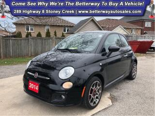 Used 2014 Fiat 500 Sport| B-Tooth| Keyless Ent| Gas Saver! for sale in Stoney Creek, ON
