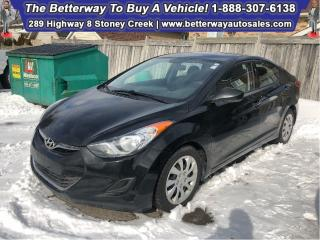 Used 2013 Hyundai Elantra GL| Heat Seat| B-Tooth|| Keyless Ent for sale in Stoney Creek, ON