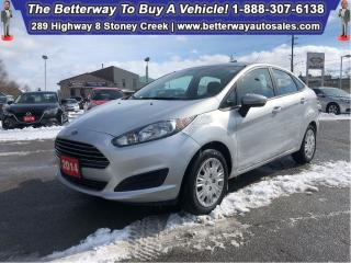 Used 2014 Ford Fiesta SE| Low KMS| Gas Saver| B-Tooth| PWR Options for sale in Stoney Creek, ON
