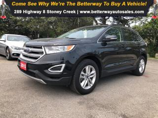 Used 2015 Ford Edge SEL| Navi| Backup Cam| Heat Seat| Dual Climate for sale in Stoney Creek, ON