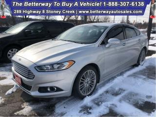 Used 2014 Ford Fusion SE| Heat Seat| Navi| Backup Cam| Leather| Sunroof for sale in Stoney Creek, ON