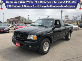 Used 2011 Ford Ranger Sport| Bed Liner| CD Player| Great Work Truck! for sale in Stoney Creek, ON