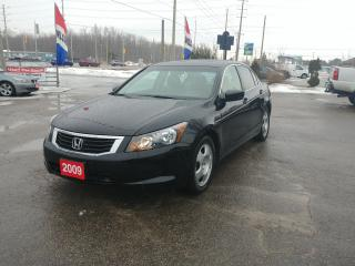 Used 2009 Honda Accord Sedan EX-L for sale in Barrie, ON