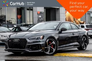 Used 2018 Audi RS 5 Coupe |Bang&Olufsen.Audio|Sunroof|Heat.Frnt.Seats|Blindspot|20