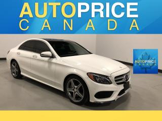 Used 2016 Mercedes-Benz C-Class SPORT PKG|NAVIGATION|PANROOF for sale in Mississauga, ON