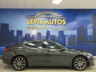 Used 2015 Acura TLX SH-AWD CUIR CHAUFFANT TOIT OUVRANT ÉLECT for sale in Lévis, QC