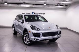 Used 2015 Porsche Cayenne Diesel -BLUETOOTH|CRUISE CONTROL for sale in Newmarket, ON