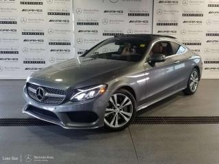 Used 2018 Mercedes-Benz C 300 4MATIC Coupe for sale in Calgary, AB