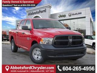 New 2018 RAM 1500 ST 4x2 Crew Cab 5.6 Ft. Box for sale in Abbotsford, BC