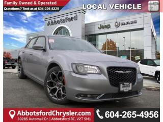 Used 2018 Chrysler 300 S - Locally Driven - Accident Free for sale in Abbotsford, BC