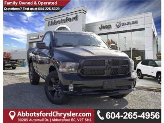 New 2019 RAM 1500 Classic ST 4x2 Regular Cab 6.3 ft. box for sale in Abbotsford, BC
