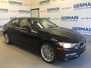 Used 2015 BMW 320 Xdrive Sedan-Executive for sale in St-Raymond, QC