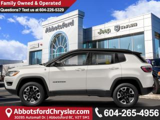 New 2019 Jeep Compass Trailhawk - Leather Seats - Heated Seats for sale in Abbotsford, BC