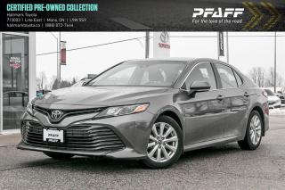 Used 2018 Toyota Camry 4-Door Sedan LE 6A ONE OWNER TRADE IN, LOW KM's! for sale in Orangeville, ON