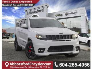 Used 2019 Jeep Grand Cherokee SRT - Leather Seats for sale in Abbotsford, BC