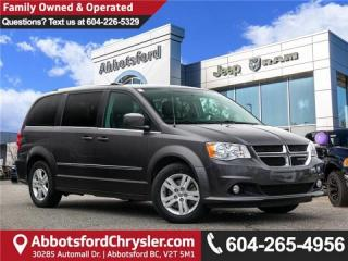 Used 2017 Dodge Grand Caravan Crew - Accident Free for sale in Abbotsford, BC