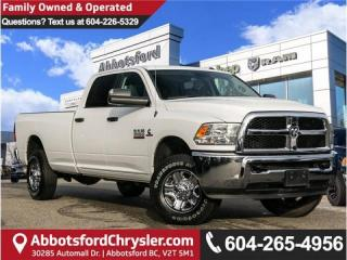 Used 2018 RAM 3500 SLT - Locally Driven - Accident Free - Low Mileage for sale in Abbotsford, BC