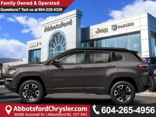 New 2019 Jeep Compass Trailhawk - Sunroof - Leather Seats for sale in Abbotsford, BC