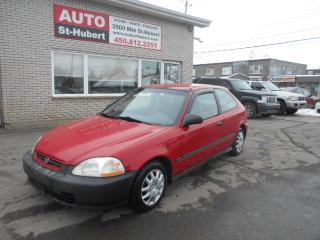 Used 1997 Honda Civic CX for sale in St-Hubert, QC