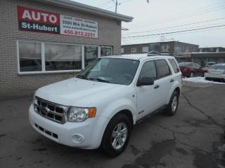 Used 2008 Ford Escape Hybride AWD HYBRIDE for sale in St-Hubert, QC